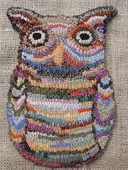 Hooked owl. Art Spirit- 