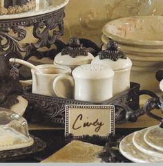Coffee/Tea Hostess Set - 4 Piece