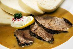 Svíčková Czech Recipes, Stew, Meat, Food, Kitchens, Essen, Meals, Yemek, Eten