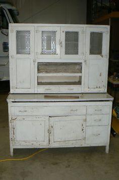 Kitchen Cabinets Vintage Style refinished 1930s hoosier cabinet | vintage kitchen | pinterest