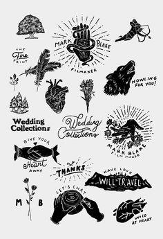 Branding for Mark Blake from Florida Typography Design, Branding Design, Logo Design, Lettering, Identity Branding, Corporate Identity, Corporate Design, Brochure Design, Visual Identity