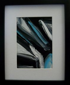 Small Original Acrylic  Abstract Pianting by DonnazArt on Etsy, $11.00