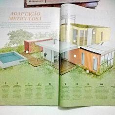 """""""Na busca por soluções sustentáveis o mercado da construção civil tem explorado o uso de contêineres em residências."""" Você moraria em um? #arquiteturaeconstruçao #obrascivis #inovação #edificações #arquitetura #sustentabilidade by quesia_slva http://ift.tt/1ONZKex"""