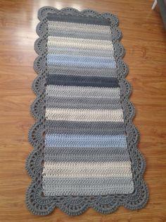 New Crochet Rug Rectangular Etsy Ideas Crochet Carpet, Crochet Home, Crochet Gifts, Cute Crochet, Crochet Rug Patterns, Crochet Designs, Crochet Stitches, Crochet Rugs, Oval Rugs
