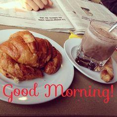 ¡Muy Buenos días!  #ideassoneventos #blog #bloglovin #organizacióndeventos #comunicación #protocolo #imagenpersonal #bienestarybelleza #decoración #inspiración #bodas #buenosdías #goodmorning #domingo #sunday #happy #happyday #felizdía #desayuno #breakfast #colacao #croissant #croissantalaplancha #ricorico #ñamñam #instafood