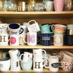 Preppy Kitchen with All The Funny Knick - Dlingoo Coffee Corner, My Coffee, Coffee Shop, Coffee Cups, Drink Coffee, Asian Home Decor, Cute Mugs, Home Decor Accessories, Apartment Living
