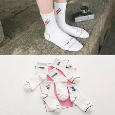 Funshow Mens Funny Cotton Casual Dress Crew Socks Pack