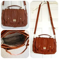 Emperia Clarita Messenger Bag in Brown - Really cute!