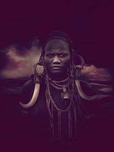 A series of digital images and photo manipulations by RISE Design Studio, inspired by Africa.