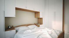 egyedi bútor kis hálószobába