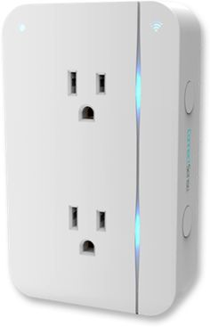 Smart Outlet from ConnectSense - Apple HomeKit, Wi-Fi, ZigBee gateway, 2.4A USB charging port, two outlets - https://www.connectsense.com/smart-outlet