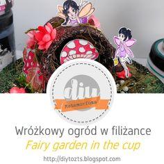 DIY - zrób to sam : METAMORFOZA - Wróżkowy ogród w filiżance / Fairy g... Fairy, Garden, Deco, Garten, Lawn And Garden, Gardens, Gardening, Outdoor, Yard