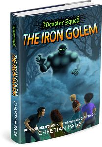 'The Iron Golem' Book Tour + $25 Amazon GC  Giveaway (paranormal, YA)