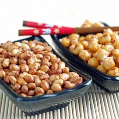 Roasting Beans, great snack full of protein for kids and adults alike!