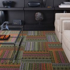 Print Shot. Flor rocks...this for an entry rug?