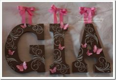 DIY Wooden Letters (w/instructions)