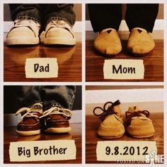 Ill make my own birth announcements! Aunt, cousin, cousin, baby... So there baby bro! :p