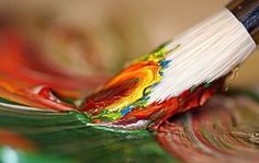 How To Create A Swirled Abstract Painting With Acrylic Paint