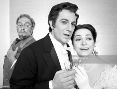 Metropolitan Opera's 'La Traviata' starring Ileana Cotrubas as Violetta, Plácido Domingo as Alfredo, and Cornell MacNeil as Germont, March 1981. Photo by Jack Mitchell/Getty Images