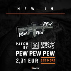 Cool Patches, Hook And Loop Fastener, Pew Pew, Arms, Black And White, Black N White, Black White, Weapons
