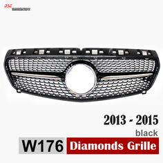Find More Racing Grills Information about replacement ABS diamond front grille grill for 2013 2014 2015 Mercedes W176 A200 A180 A260 A45 AMG Silvery Gloss Black,High Quality front grill,China front grills for cars Suppliers, Cheap front grille emblem from DSG-MANUFACTURER on Aliexpress.com
