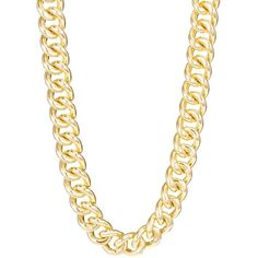 R.J. GRAZIANO Large Chain Link Necklace found on Polyvore