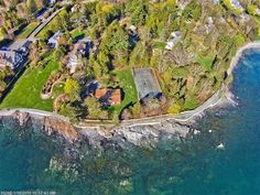 Reef Point - on the former estate of noted landscape architect, Beatrix Farrand - on the Shorepath in Bar Harbor, Maine. This property is listed by The Swan Agency Sotheby's International Realty.