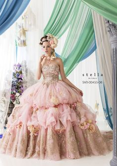 So Beautiful. This is gonna be my favorite ballgown ever. Imagine wearing this…