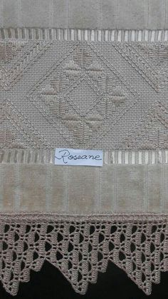 Rendas Types Of Embroidery, Embroidery Patterns, Hand Embroidery, Drawn Thread, Thread Work, Bargello, Hardanger Embroidery, Finger Knitting, Satin Stitch