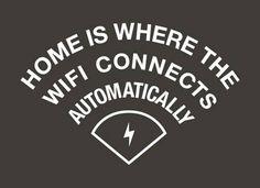 El hogar, el donde el WiFi se conecta automáticamente.