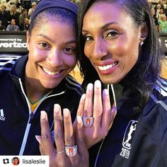 #Repost @lisaleslie with @repostapp ・・・ Smooth and Silk back together again! @la_sparks family for life! Thanks to the @wnba for making our dreams come true! -#winning