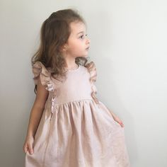 Girls Blush Ruffle D