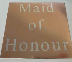 Maid of Honour Iron On Transfer, DIY Transfer, Wedding Decal