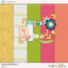Quality DigiScrap Freebies: All the Details 2 mini kit freebie from Southern Creek Designs