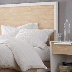 West Elm offers modern furniture and home decor featuring inspiring designs and colors. Create a stylish space with home accessories from West Elm. Home Bedroom, Bedroom Decor, Bedroom Ideas, White Bedding, Bedding Sets, Guest Room Decor, Beautiful Bedrooms, Making Ideas, Decorating Your Home