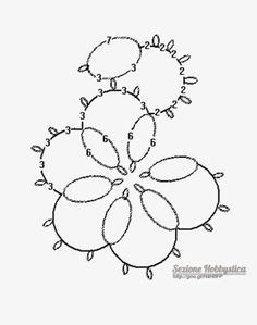 I made this one twice in Shuttle Tatting in size 20 thread. It was perfect size for earrings!