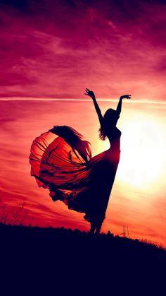 Aesthetic Dancing Sunshine Beauty Girl #iPhone #6 #plus #wallpaper