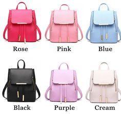 Cheap Elegant Pink Funky Lady Solid Simple Square PU Drawstring Hasp Satchel Backpack For Big Sale!Elegant Pink Funky Lady Solid Simple Square PU Drawstring Hasp Satchel Backpack is perfect school backpack. Lace Backpack, Striped Backpack, Satchel Backpack, Leather Backpack, Cute Backpacks, Girl Backpacks, School Backpacks, Fashion Bags, Fashion Backpack