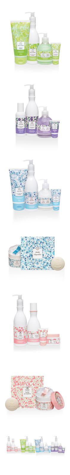 Panvel Natural • Branding and Package Design on Behance by Carmelita Design, Porto Alegre, Brazil. Branding and packaging design for Panvel Natural: Leite de Cabra / Erva Doce / Algodão / Lavanda. PD