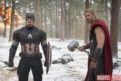 Marvel lanza nuevas imágenes de 'Los vengadores 2'