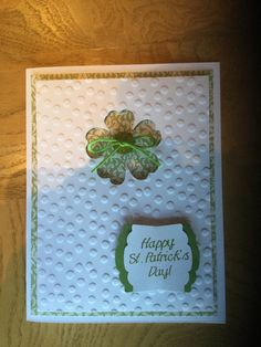 St. Patrick's Day Project - 2016