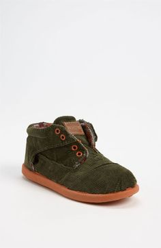 TOMS 'Botas' Corduroy Boot (Baby, Walker & Toddler) available at #Nordstrom