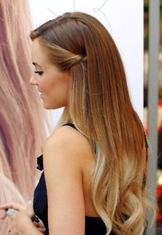Lauren Conrad Subtle Ombre.  Kinda think her profile looks a lot like me if I were all made up. Crazy!