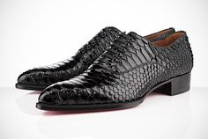 """""""Python Crystal"""" Platers Flat by Christian Louboutin"""