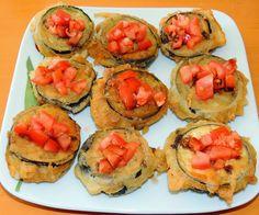 Cocinando en Altorreal: BERENJENAS CON JAMÓN Y QUESO