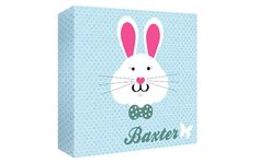 I Just Love It Personalised Bunny Canvas Personalised Bunny Canvas - Gift Details. How could anyone resist this super sweet canvas?. Decorated with an adorable bunny wearing a bow this oh-so-sweet canvas will please any little boy or girl.  http://www.MightGet.com/january-2017-11/i-just-love-it-personalised-bunny-canvas.asp