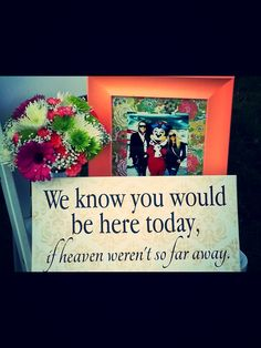 Honoring loved ones at your wedding,