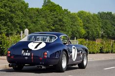 Ferrari 250 SWB in blue...
