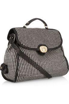 Carmen Tweed Satchel Bag - See By Chloe