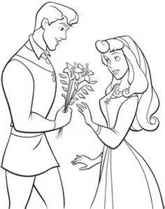 Sleeping Beauty. Disney Coloring Page